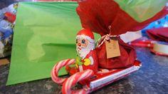 Candy sleigh diy