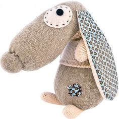 Stitch It Sock Doggie craft set with sock, scissors, thread, needle and all other materials included.