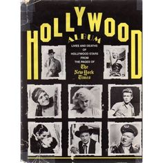 HOLLYWOOD ALBUM: LIVES AND DEATHS OF HOLLYWOOD STARS FROM THE PAGES OF THE NEW YORK TIMES (Micro-film of actual newspaper articles with vivid photography!): ARLEEN KEYLIN, SURI FLEISCHER: Amazon.com: Books