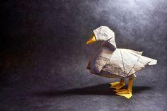 Origami duck by Gonzalo Garcia Calvo