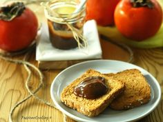 Marmellata di cachi e cioccolato fondente Basic Recipe, Hamburger, Cheesecake, Desserts, Recipes, Food, Cream, Canning, Tailgate Desserts