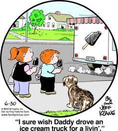 Family Circus Cartoon for Jun/30/2014