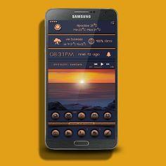 Buzz launcher Samsung Galaxy Note 2