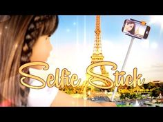 How to Make a Doll Selfie Stick - Doll Crafts - YouTube