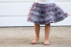 Purple Bird Skirt