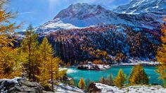 Nieuw in mijn Werk aan de Muur shop: Sprookjesachtig Bergmeer in Graubunden