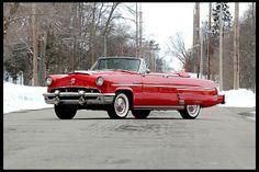 1953 Mercury Monterey Convertible 292/198 HP, Automatic.