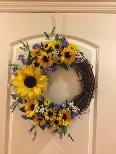 Sunflowers watercolor clipart   Custom-Designed Illustrations ~ Creative  Market