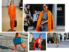 FASHION TREND: Orange is the new ...