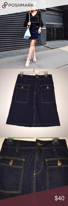 Zara Denim Mini Skirt Worn twice- brand new condition.   ✔️Shipped ASAP  ✔️Bundles ❌Trades Zara Skirts Mini