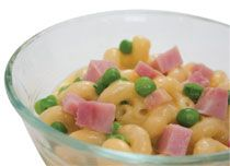 Mac n' Cheese with Peas and Ham