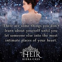#TheHeir #TheSelection
