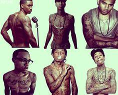 <3 Trey Songs <3 Tyga <3 Chris Brown <3 Bow Wow <3 Lil Wayne <3 Wiz Khalifa <3