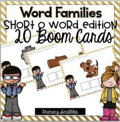 Are you 1:1? Are you looking for a fun way to practice the skill of short o word families in your classroom? This online and interactive activity is perfect for the digital classroom. In this product, you get a link to a website. This activity contains 20 questions relating to the topic of short o word families. Please check out the preview above to view four of the deck cards.