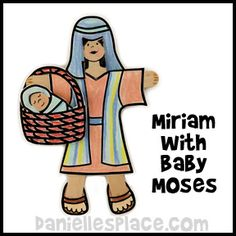 Moses Bible Lesson for Sunday School from wwwdaniellesplacecom
