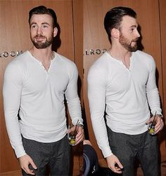 Chris Evans featuring that shirt