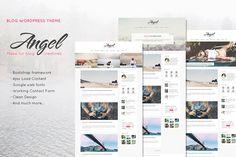 Angel - Creative & Elegant Blog Word by lazathemes on @creativemarket