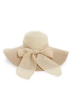 BP. Floppy Straw Hat available at #Nordstrom