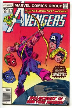 Avengers 172 1978 NM- Iron Man Captain America Hawkeye Ms. Marvel Vision