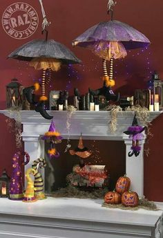 Fun Halloween decor