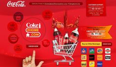Order Coke online get Flat 15% off on sparkling drinks ,Energy Drinks,Soda and Packaged Drinks   Rs 40 additional Cashback   Chilling Offer: Now minimum amount for delivery is Rs 99 at Coke2Home