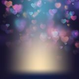 Valentine s day background. EPS 10 Stock Photos