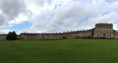 The Royal Crescent in Bath, Wales