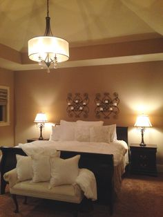 Lovely transformation to a relaxing bedroom!