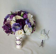 Wedding Accessory Silk Bridal Bouquet Flower By AmoreBride