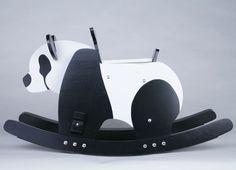 #panda rocker... My child will have one!