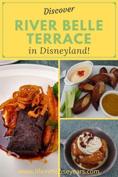 Are you looking for a good place to eat at Disneyland? River Belle Terrace just might be the place you are looking for! Sitting right along the Rivers of America, there is outdoor seating as well as indoor! Watch one of the ships sail by as you eat or get the Fantasmic Dining Package and watch the show while you eat! Click to find out more! www.lifeinmouseyears.com #lifeinmouseyears #riverbelleterrace #disneydining #disneyland #riversofamerica Disney Dining, Disneyland Resort, Best Places To Eat, Outdoor Seating, Rivers, Terrace, Ships, Indoor, America