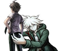 Watafoq hahahahahhaha / i don't even ship these two but this fucking killed me Danganronpa Funny, Super Danganronpa, Danganronpa Characters, Image Memes, Nagito Komaeda, Cursed Images, Animes Wallpapers, Reaction Pictures, Haha Funny