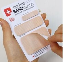 Freeshipping! Novelty Band Aid type sticky Memo pad Post it notes Stationery office supplies School supplies(China (Mainland))