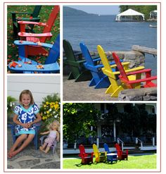 The signature Basin Harbor Club Adirondack Chair