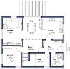 Bostonhaus amerikanische h user evans traumhaus for Perfekter grundriss einfamilienhaus