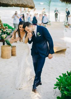 Style Meets Sand for this Destination Wedding in Tulum Beach Wedding Groom, Elope Wedding, Wedding Book, Wedding Couples, Wedding Bells, Dream Wedding, Wedding Photography Examples, Fine Art Wedding Photography, Wedding Photos