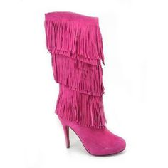 Christian Louboutin Forever Tina Suede Boots Fuchsia [BT53] - $165.00 :  Designershoes-shopping