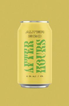 Design by Here and Now   #beercan #beerdesign #packagingdesign #beerpackaging #sourbeer #psychadelicbrand #creativecandesign #creativebranding #logoinspiration #beerlogo #craftbeer #creativetypography