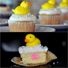 Ducks cup cakes:-)