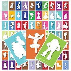 Printable Disney World 5.5x8.5 Autograph Cards by TheHappyHaunt
