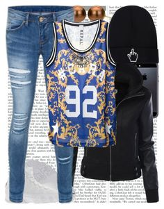 """""""Conjunto #800"""" by laarochaa ❤ liked on Polyvore featuring Tavik Swimwear, DaVonna and NEPAL Downtown"""
