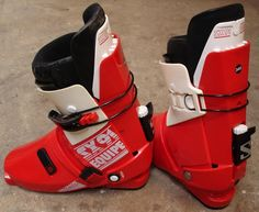 The iconic Salomon SX91 Equipe ski boot. The last great rear-entry boot with almost flawless design. One of my favorite products of all time.