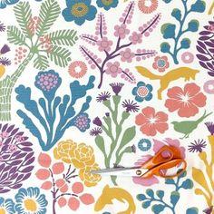 Fox Grove Swedish Pastel Fabric