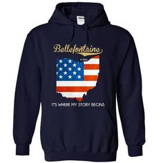 Bellefontaine - Ohio - Its Where My Story Begins ! - #tee tree #sweater storage. TRY => https://www.sunfrog.com/States/Bellefontaine--Ohio--Its-Where-My-Story-Begins-3472-NavyBlue-29925640-Hoodie.html?68278