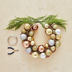 IKEA 50 Grande Or Arbre de Noël boules incassables Décorations