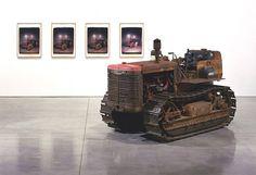 Bulldozer, by Chris Burden