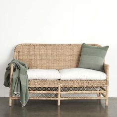 The Capri range is hand made using Slimit Rattan in natural. Available in a range of pieces, make this your next Verandah look. Outdoor Lounge, Outdoor Seating, Outdoor Rooms, Outdoor Chairs, Outdoor Furniture, Cane Furniture, Furniture Design, Rattan Armchair, Home And Living