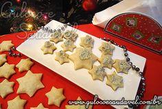 Receita saudável, prática, deliciosa de Estrelinhas com Pasta de Gorgonzola, com valores nutricionais, foto, baixo teor de colesterol.