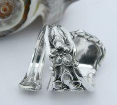 Silver Spoon Ring   Orange Blossom 1910 by CaliforniaSpoonRings, $26.50