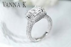 Vanna K engagement ring